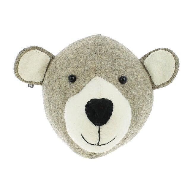 Grey Mummy Bear Head