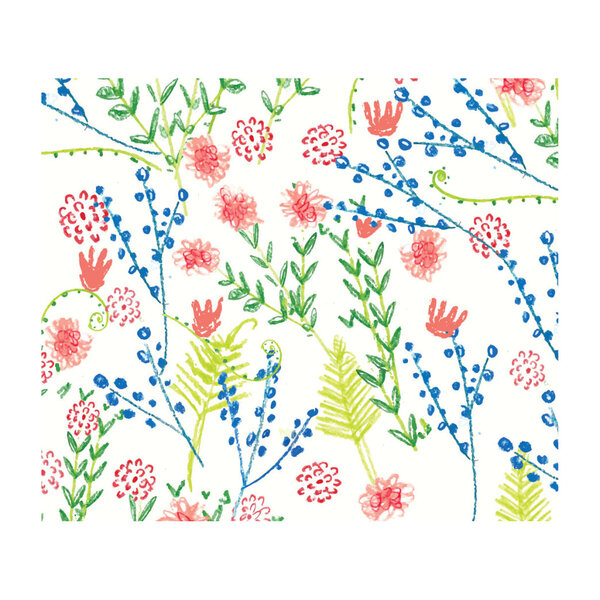 Countryside Wildflowers Gift Wrap Set
