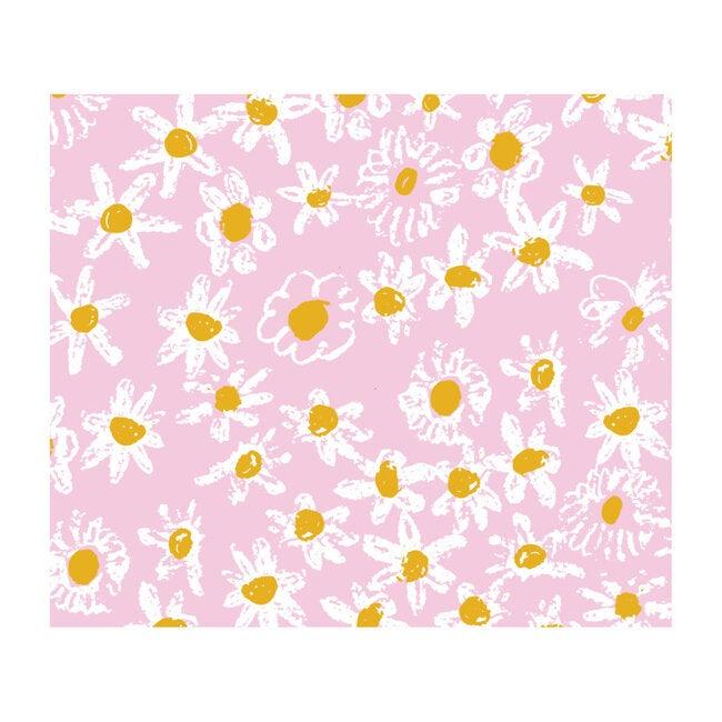 Pink Daisy Fields Gift Wrap Set