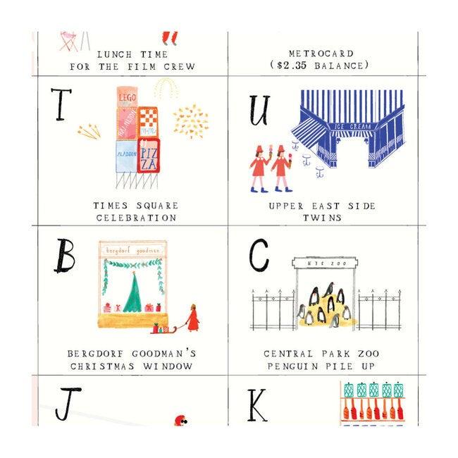 New York City ABC Gift Wrap Set