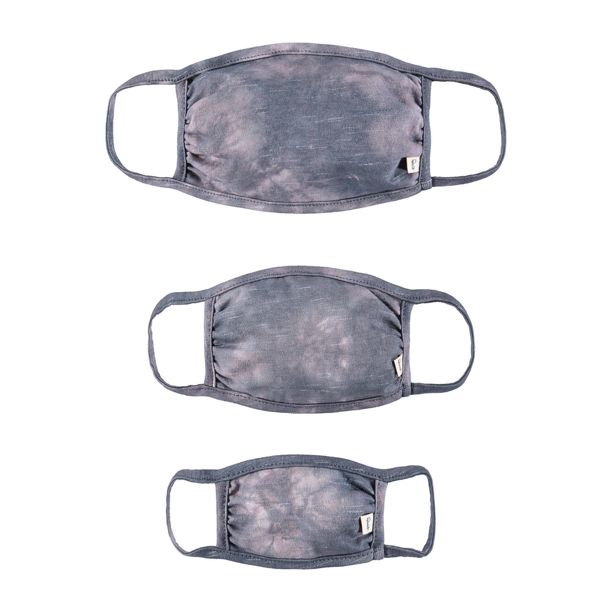 Adult Child & Mini Mask Set, Cloud Tie Dye