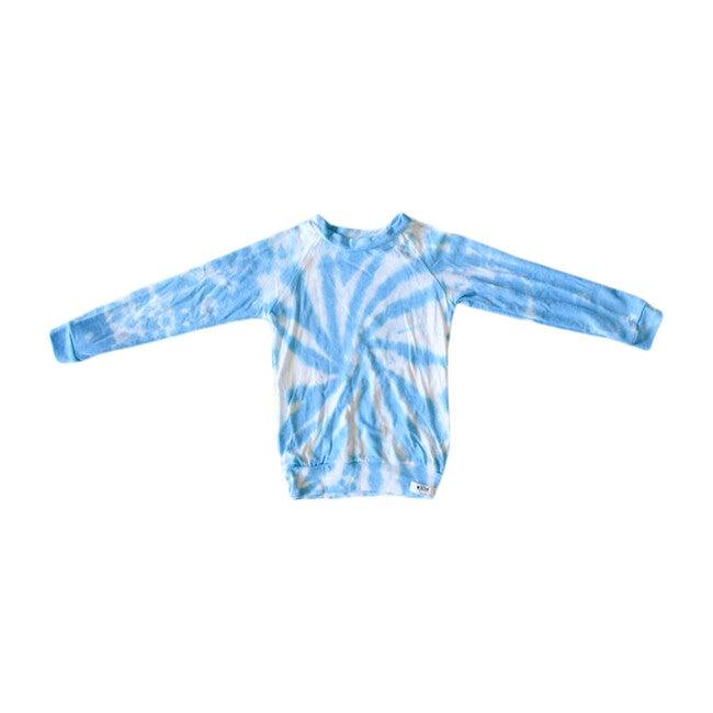 Tie Dye Raglan Shirt, Blue