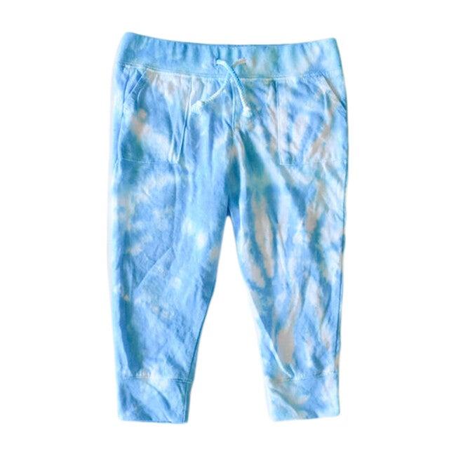 Tie Dye Joggers, Blue