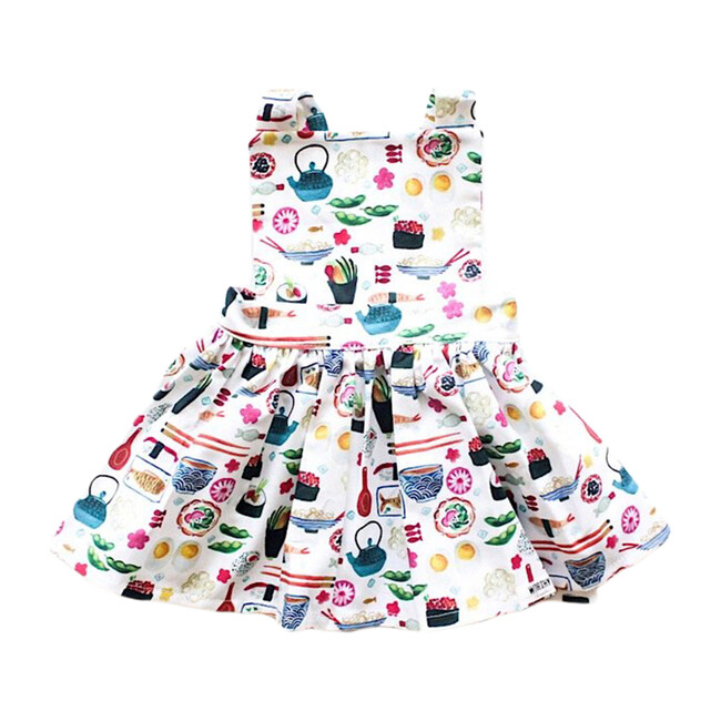 Pinafore Dress, Sushi