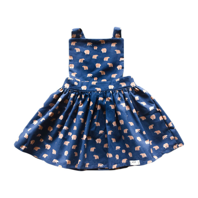 Pinafore Dress, Grizzly Bears