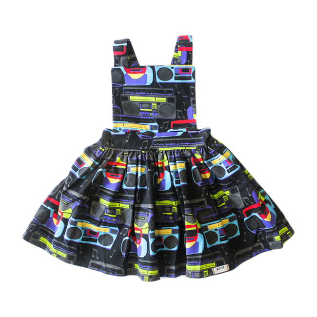 Pinafore Dress, Boomboxes