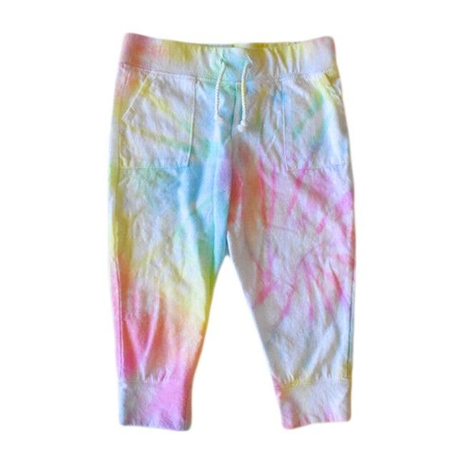 Lightweight Tie Dye Joggers, Pastel