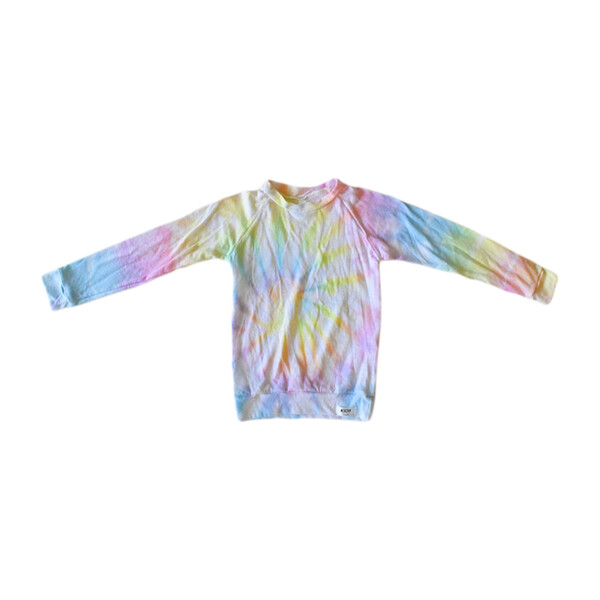 Tie Dye Raglan Shirt, Pastel