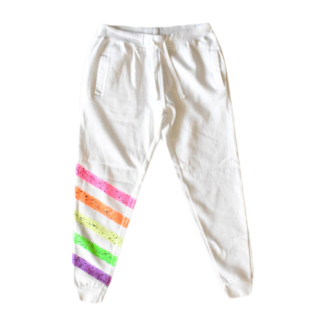 Adult Painted Joggers, Neon