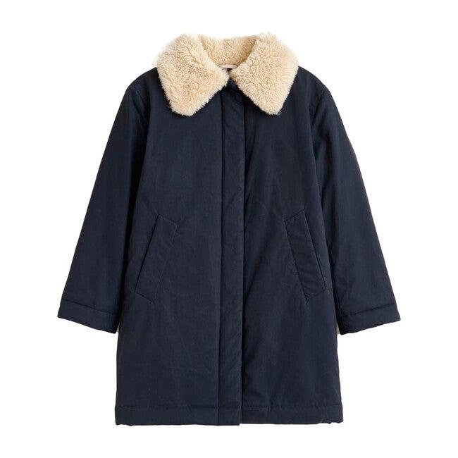 Haricot Coat, Navy
