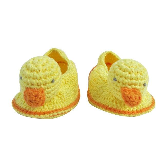 Crochet Domi Duck Booties