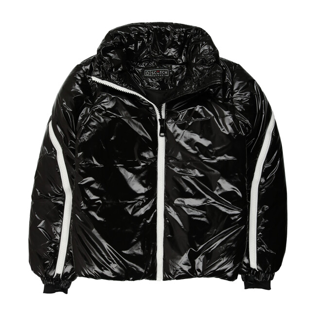 The Flurry Down Puffer, Black