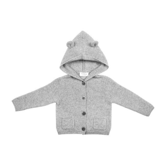 Bear Hoodie, Grey