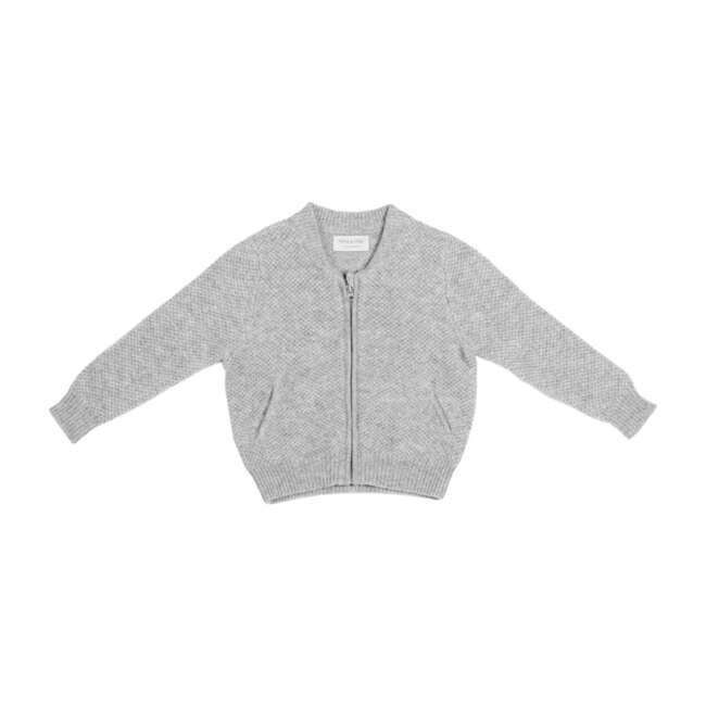 Bomber Jacket, Grey