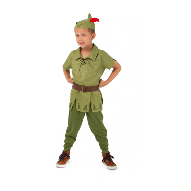 Peter Pan with Hat Set - Costumes - 0