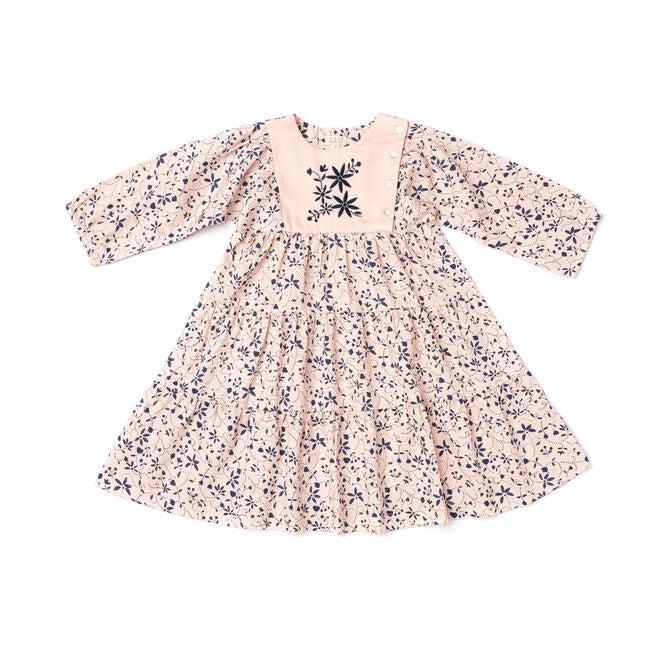 Nova Dress, Pink Vines