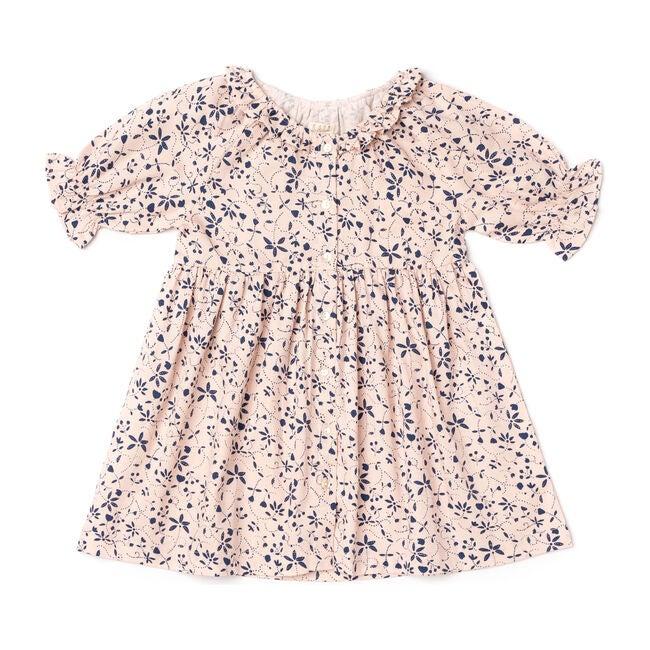 Ivy Dress, Pink Vines