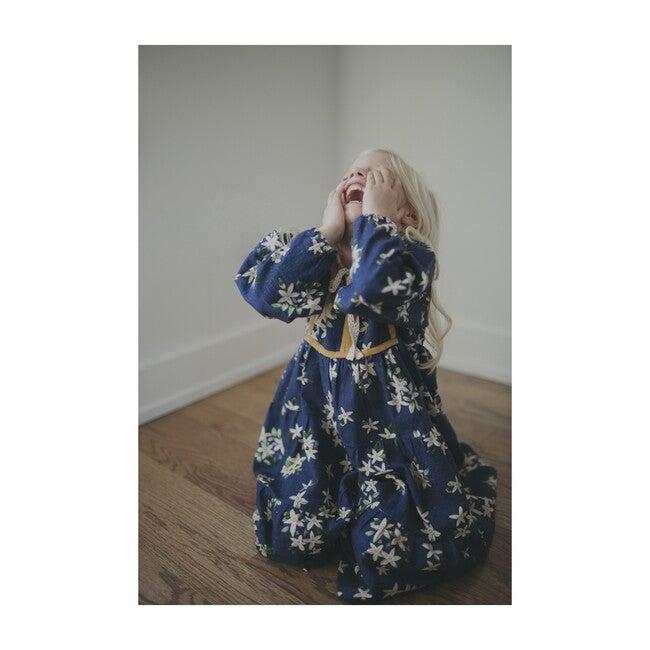 Midi Dress, Navy Jasmine