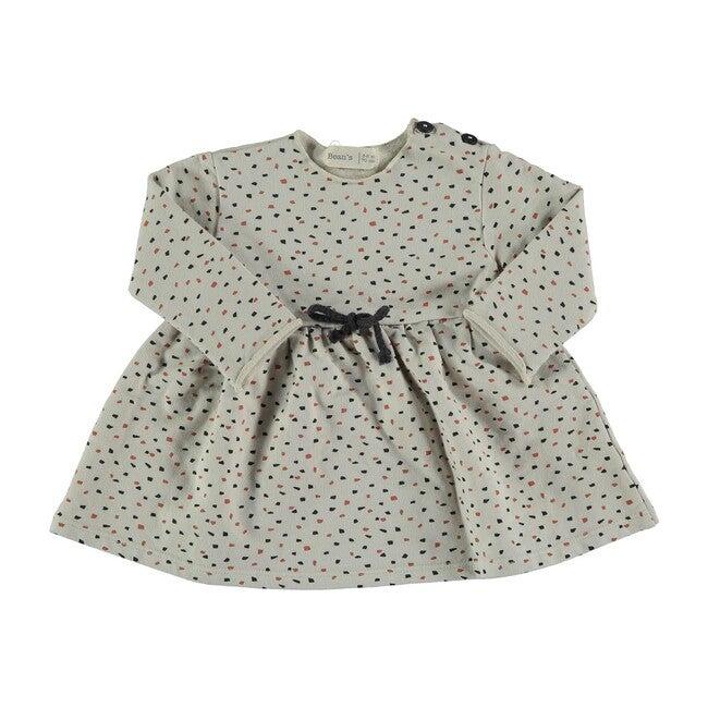 Dots Dress, Stone