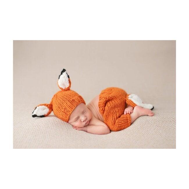 Rusty Fox Newborn Set, Orange