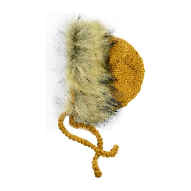 Lennon Lion Bonnet, Mustard