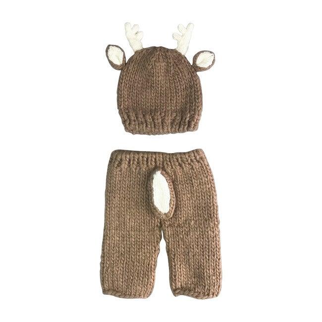 Hartley Deer Newborn Set, Brown