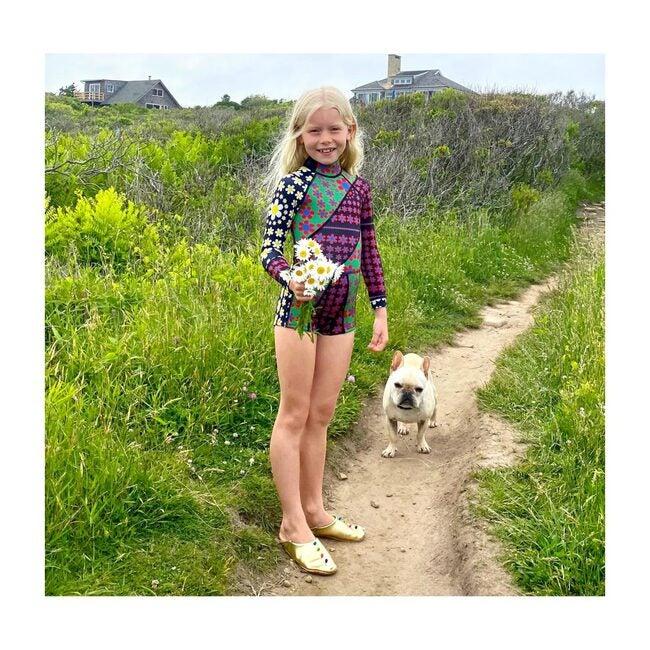 Mia Daisy Patchwork Kid Wetsuit, DSBMT