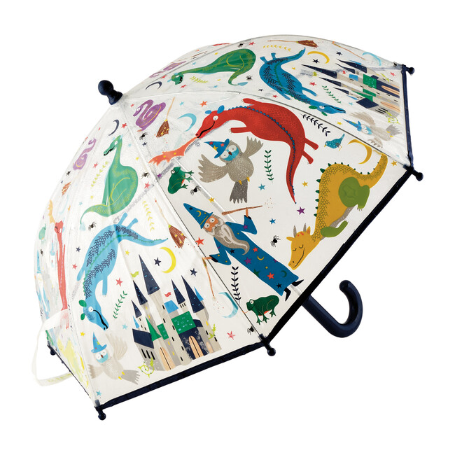 Spellbound Colour Changing Clear Umbrella - Outdoor Games - 0