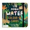Dinosaur Magic Water Colour-In Cards - Arts & Crafts - 1 - thumbnail