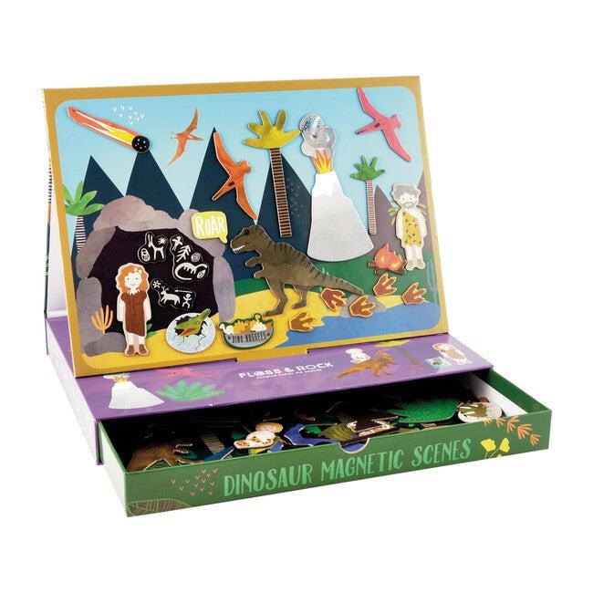 Dinosaur Magnetic Play Scene