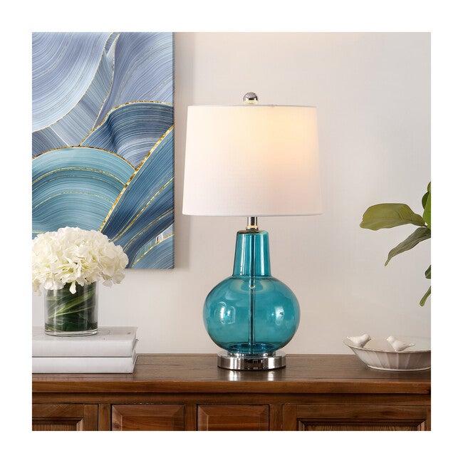 Atlas Table Lamp, Azure