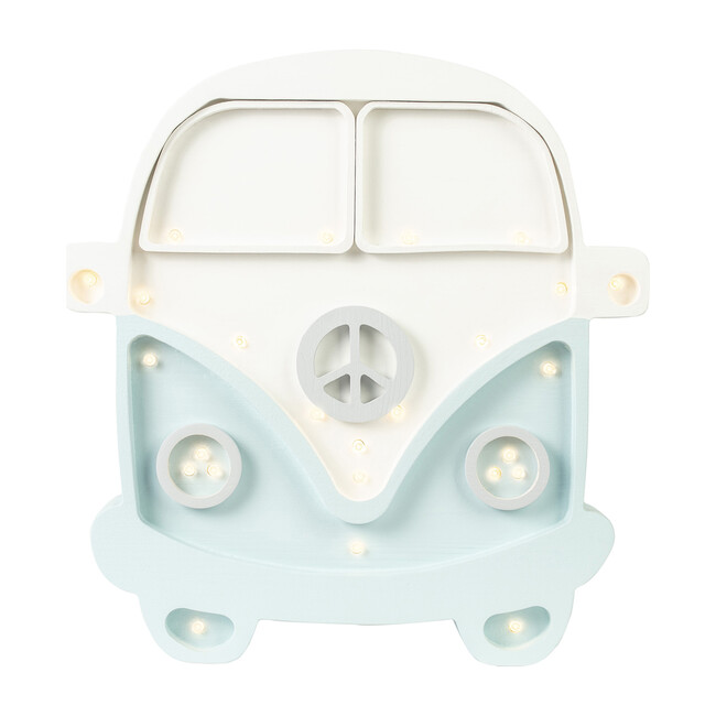 Van Lamp, White & Blue