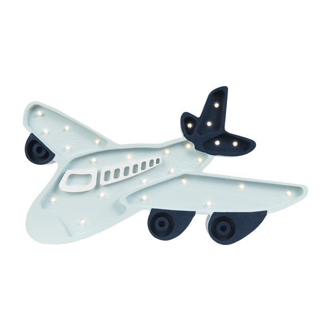 Airplane Lamp, Blue