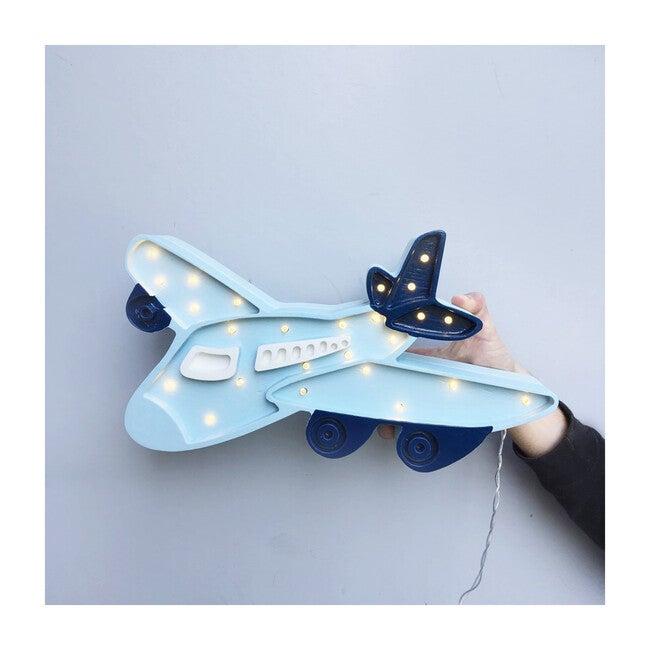 Airplane Lamp, Blue