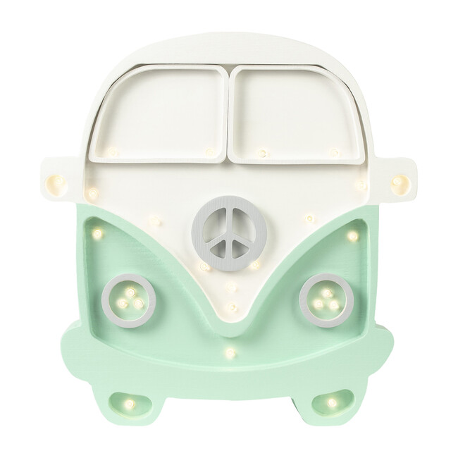 Van Lamp, White & Mint