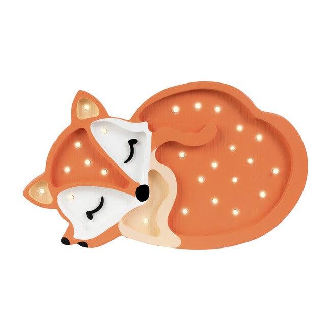 Baby Fox Lamp, Orange - Lighting - 1