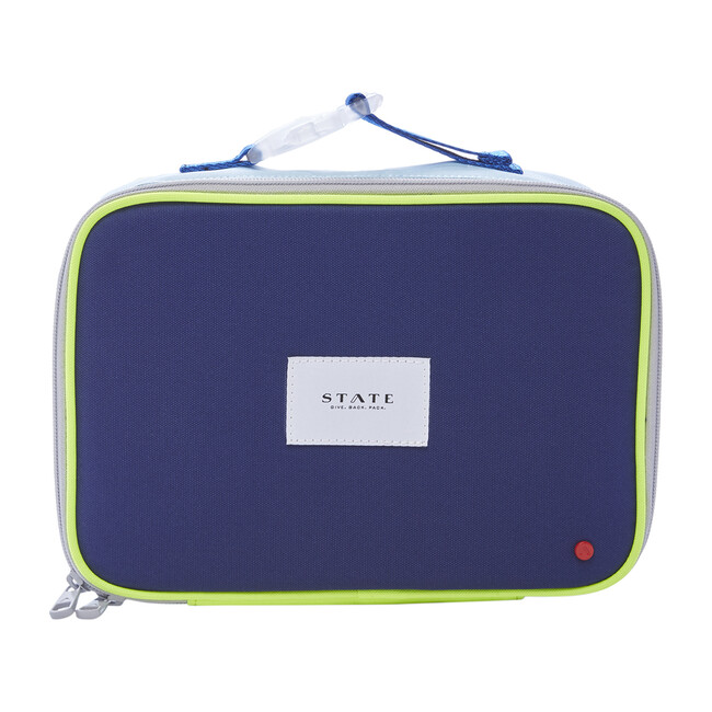 Rodgers Lunch Box, Navy/Neon