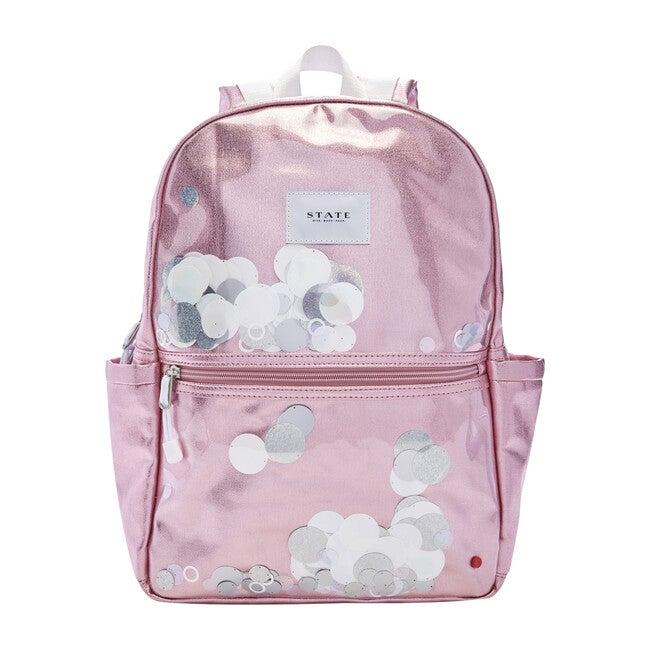 Kane Kids Backpack, White Sequins