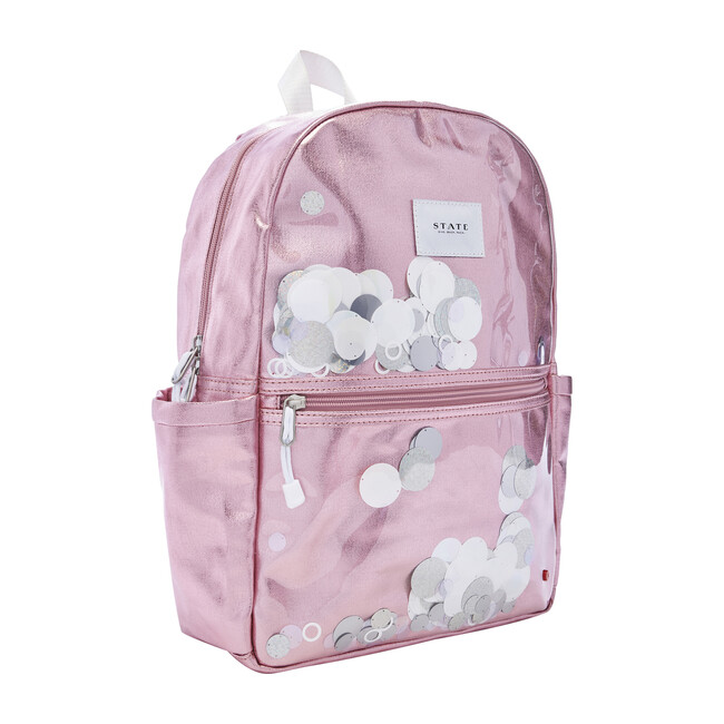 Kane Kids Backpack, White Sequins