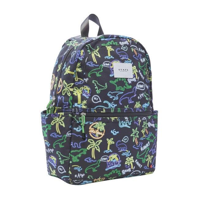 Kane Kids Backpack, Neon Dino