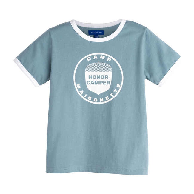 Honor Camper Tee, Sky Blue