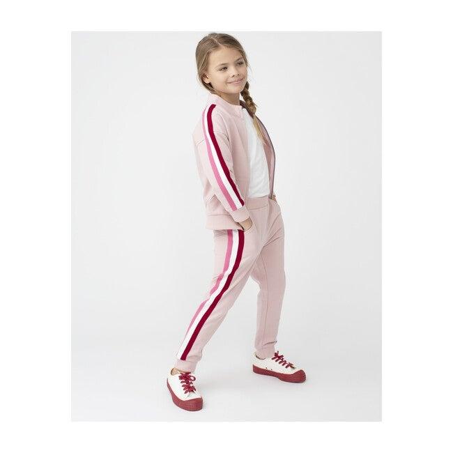 Riley Track Jogger, Pink Multi
