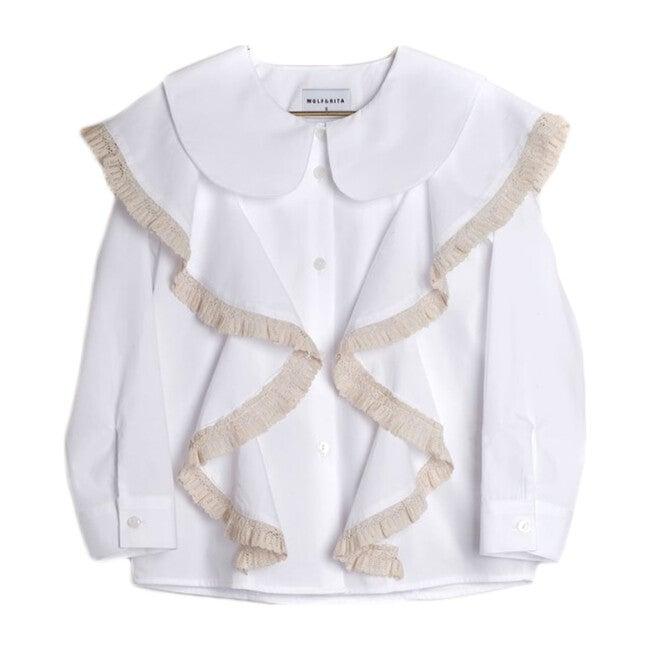 Rebecca Shirt, White - Shirts - 1
