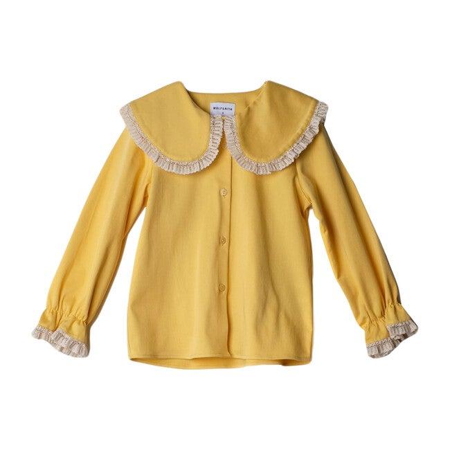 Noa Shirt, Yellow - Shirts - 1