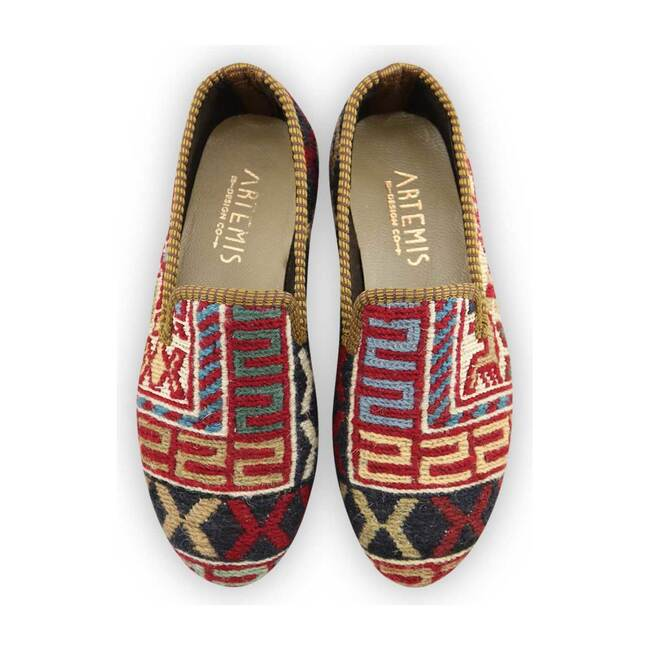 *Exclusive* Kids Kilim Loafers-34