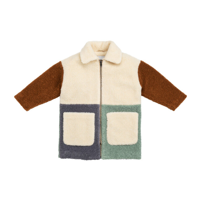 Teddy Bear Coat, Cream