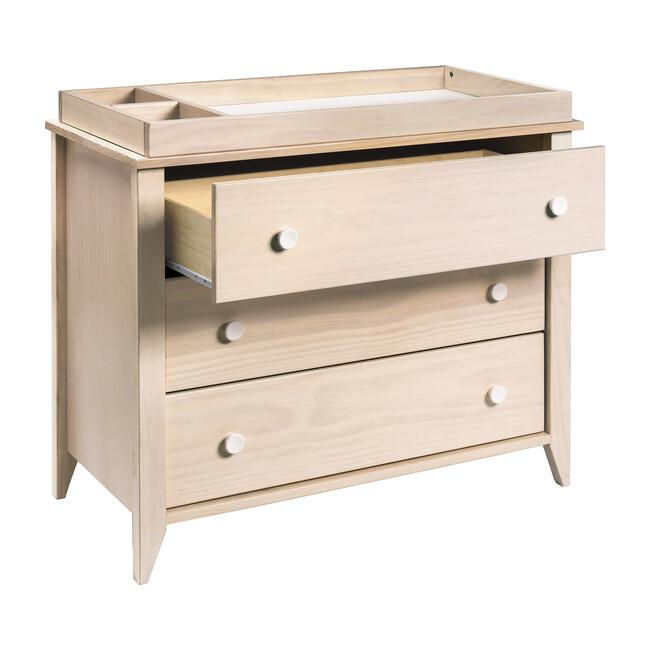 Sprout 3-Drawer Changer Dresser with Removable Changing Tray, Natural