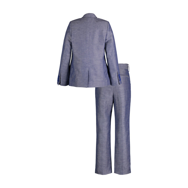 Two-Piece Suit Set, Navy