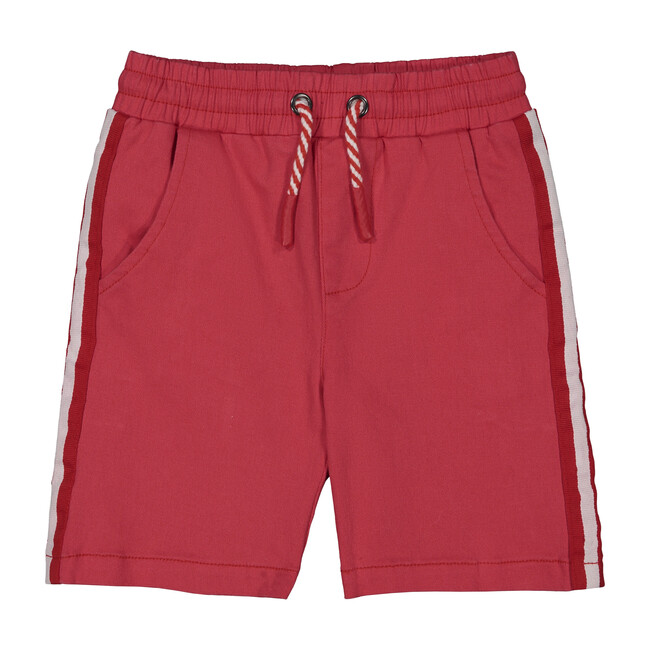 Taped Short, Red Twill - Shorts - 1