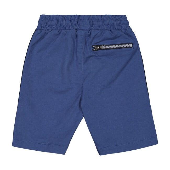 Taped Short, Blue Twill